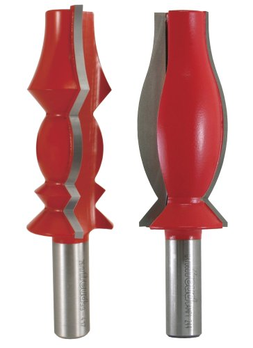 Freud 98-507 2 Piece Crown Molding Router Bit Set - 99-414 and 99-417 1/2 inch shank