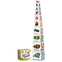 The World of Eric Carle Very Hungry Caterpillar Stacking/Nesting Blocks by Kids Preferred