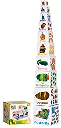 Kids Preferred World of Eric Carle, The Very Hungry Caterpillar Stacking/Nesting Blocks