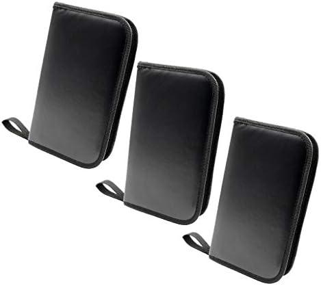 3本 修理ツールバッグ 道具袋 折り畳み可能 オックスフォード布 ブラック
