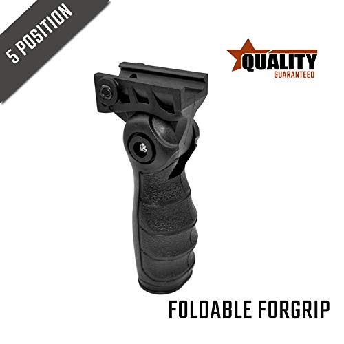 Koytes Sports Folding Foldable Front Vertical Fore Accessory Ergonomic 5-Position Handle System