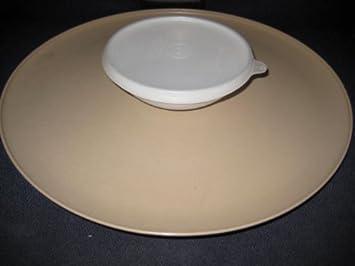 Vintage Tupperware Chip U0026 Dip / Vegetable Serving Tray