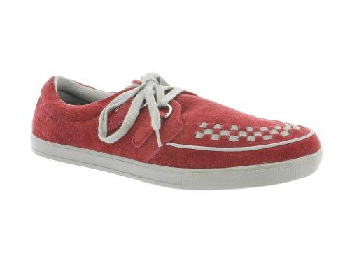 T.U.K. Sneaker 2 RING ROCKER A8447 burgundy 44