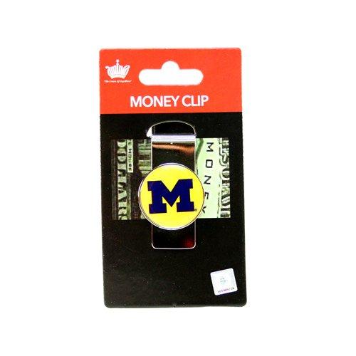 aminco NCAA Michigan Wolverines Domed Money Clip