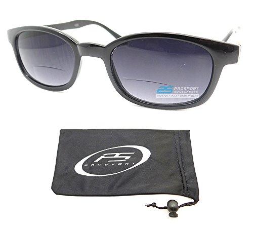 Classic Square Framed Bifocal Sunglasses Glasses - Kds Sunglasses