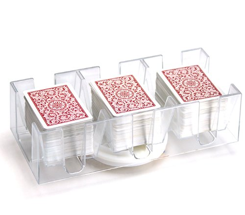 Brybelly 9 Deck Rotating/Revolving Card Tray