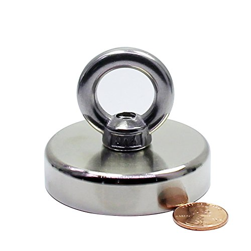 Copper Ox Plate - Brute Magnetics Round Neodymium Magnet with Countersunk Hole, 242 LBS Pulling Force, 2.36