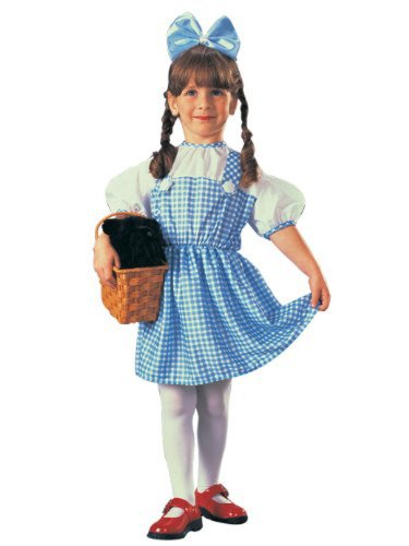Dorothy Halloween Costume - Wizard of Oz WB (6-12 months with Bracelet for Mom) (Toto From Wizard Of Oz Costume)