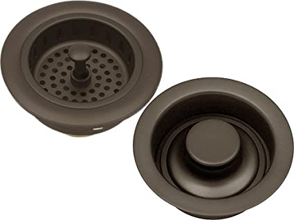 Delicieux Oil Rubbed Bronze Kitchen Sink Strainer Drain U0026 Stopper