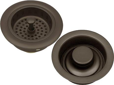 Oil Rubbed Bronze Kitchen Sink Strainer Drain U0026 Stopper