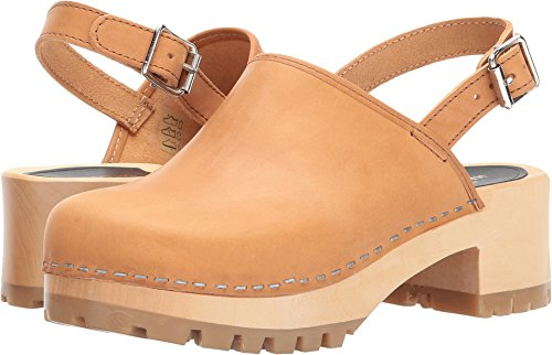 Women's swedish hasbeens Jill Nature Clog PFxxq