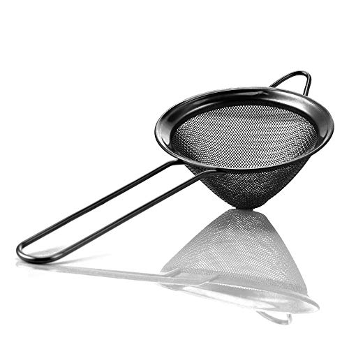 Homestia Cocktail Barware Stainless Steel Conical Mesh Strainer 3.15'(Dia)...