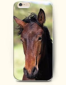 OOFIT Apple iPhone 6 Case 4.7 Inches - Horse in the Wind