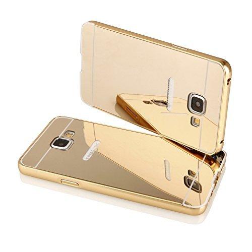 half off 7078a 9c9fd Johra For Samsung Galaxy A5 2016 Edition Back Cover, Gold Golden ...