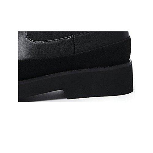 CHENGREN CHENGREN CHENGREN Proteggi Libero Donna 36 Black Caviglia e Tempo 36 Stivali da la Impermeabile Confortevole rpqw6rBx