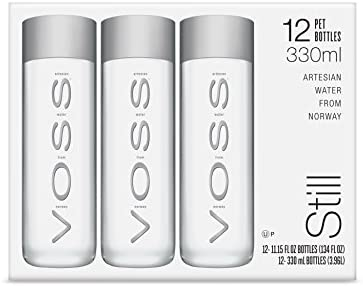 62d5bf14a4 VOSS Artesian Still Water, 330 ml Plastic Bottles (Pack of 12 ...