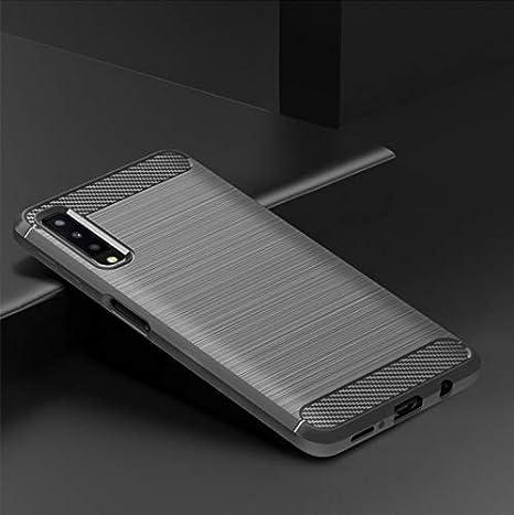 Amazon.com: Carcasa para Galaxy A7 2018 con protector de ...