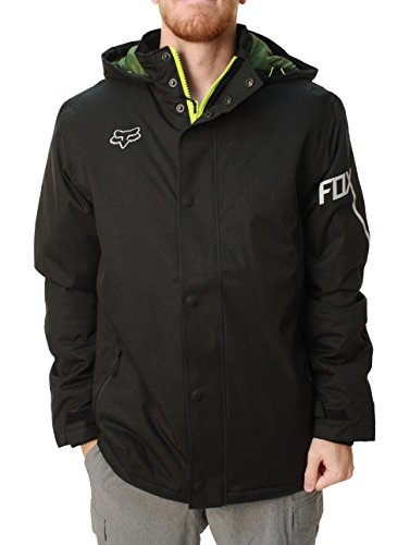Fox Racing Mens Enhance Tech Jacket Small Heather Black