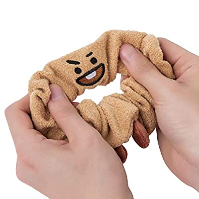 BT21 Official Merchandise by Line Friends - SHOOKY Character Scrunchy Hair Tie Accessories: Beauty