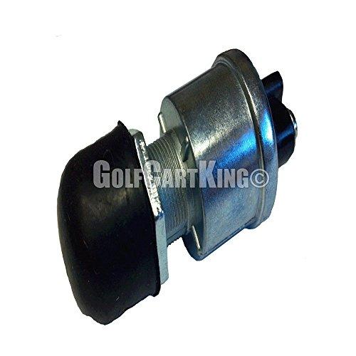 Universal Golf Cart 12 Volt/15 Amp Horn Switch Button W/Dust Cover Floor Mount ()