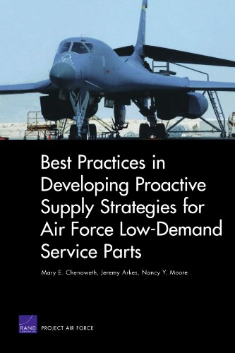 Best Practices in Developing Proactive Supply Strategies for Air Force Low-Demand Service Parts (Rand Corporation Monograph)