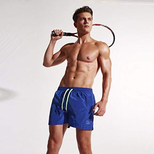 Jogginhose Courts De Pour Trunks D'été Rétro Bain Mode Vêtements Plage Hommes Tennis Pantalons Shorts Blau Airy Sport Maillots Chic BnZpxCWwqA