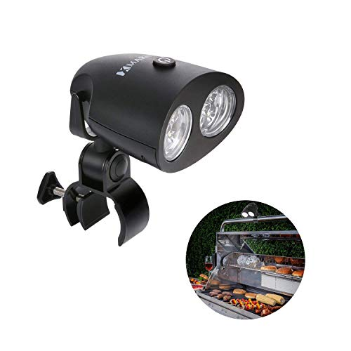 MARNUR BBQ Grill Light Barbecue Grill Lighting - Reading Camping Lights 10 LED Light Ultra Bright for Gas Charcoal and Electric Grill Light Waterproof with 360°Rotation 【2018 Upgrade】