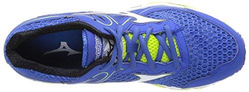 Mizuno Wave Enigma 3 - Zapatos de deporte Hombre Azul / Blanco / Lima