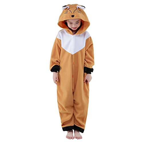 [SWEETXIN Unisex Children Pyjamas Animals Cosplay Costumes (10-height 55-58