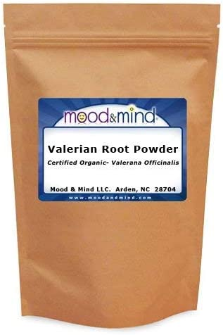 Organic Valerian Root Powder – Valeriana Officinalis Mood Mind 16 oz. 448g.