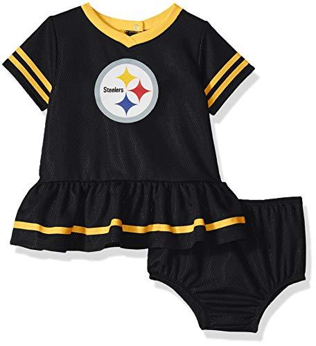 Gerber Childrenswear Pittsburgh Steelers Infant Dazzle Dress   Panty ... bae20e054
