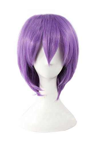 Dazcos Rosario + Vampire Mizore Shirayuki Murasakibara Atsushi Cosplay Wig (Purple)