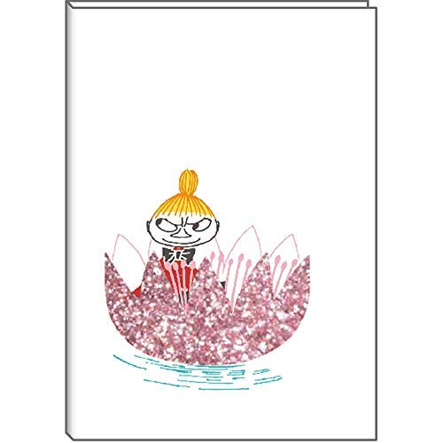 Moomin 2020 Schedule Diary Notebook B6 Monthly Flower Pink Little My MOO-36417 by Delfino