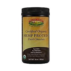 Manitoba Harvest Organic Hemp Protein Dark Chocolate - 16 Oz - + Organic - Gluten Free - Kosher