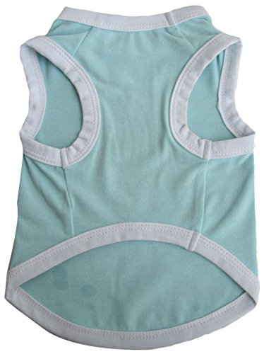 Iconic Pet Pretty Pet Tank Top, Small, Blue by Iconic Pet
