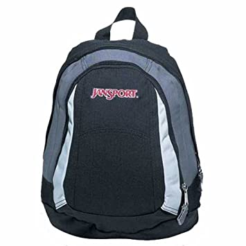 Jansport Mini Trinity III Back Pack Black/Cement/Chrome/Black ...