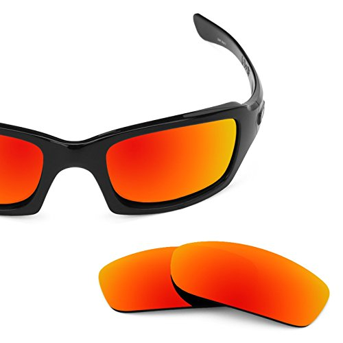 Revant Polarized Replacement Lenses for Oakley Fives Squared Fire Red MirrorShield by Revant