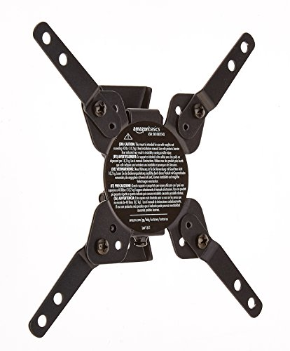 AmazonBasics Tilting TV Wall Mount for 12-inch to 39-inch TVs
