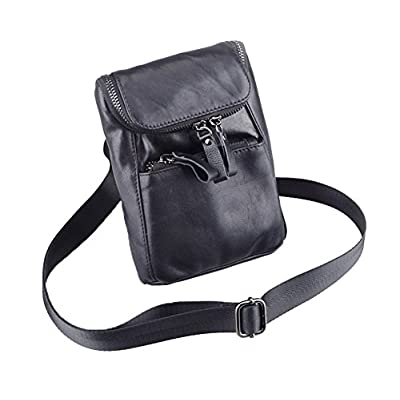 bcec50addd Genda 2Archer Mens Leather Small Belt Hook Waist Messenger Bag durable  service