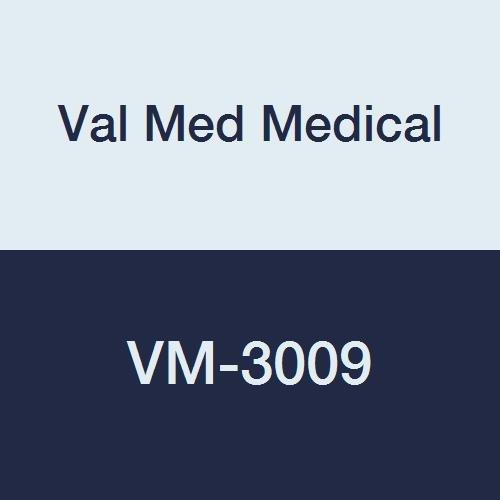 Val Med Medical VM-3009 Kodel Bed Safety Rail Pad, 60'' Length, 18'' Width, 1'' Height (Pack of 3) by Val Med Medical