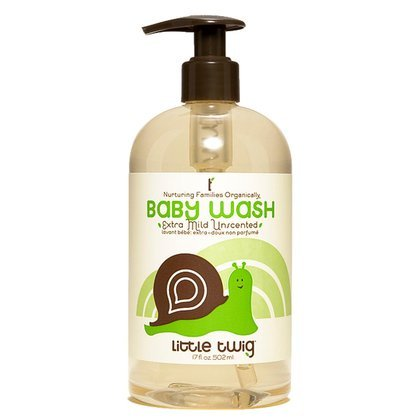 Little Twig All Natural, Hypoallergenic, Extra Mild Baby Wash for Sensitive Skin, Unscented, 17-Ounce Bottle Threshold BW1600