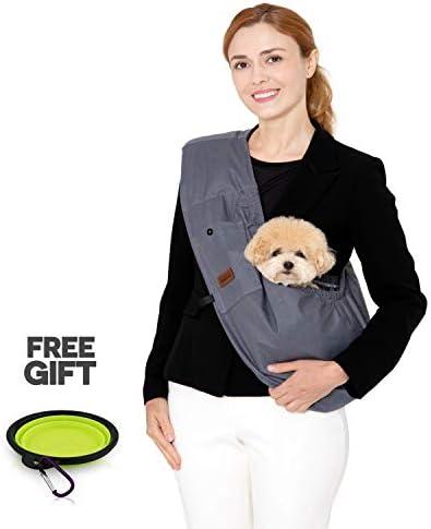 RETRO PUG PET Kangaroo Sling product image