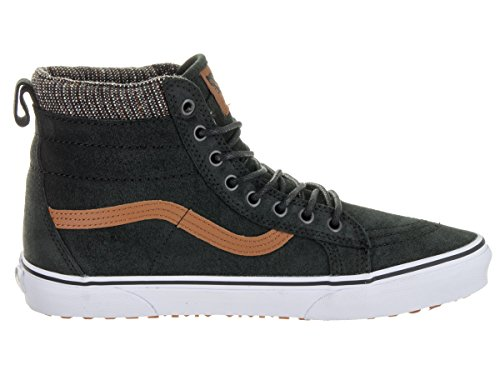 Vans Unisex-Erwachsene SK8-Hi MTE High-Top Schwarz (Black-tweed)