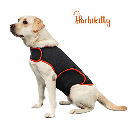 HACHIKITTY Dog Anxiety Relief Thunder Shirt, Anti Anxiety Dog Calming Vest, Stress Relief Dog Thunder Shirt