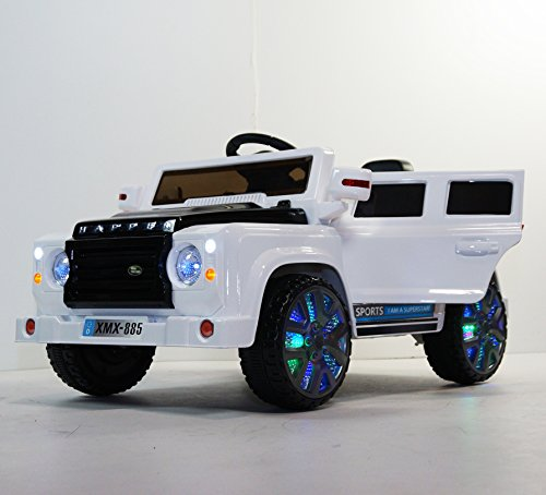 KIDS-CAR power wheels LAND ROVER JEEP STYLE . With Parent...
