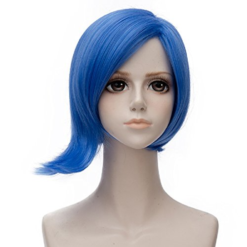 Probeauty Movie Inside Out Characters Joy Sadness Disgust Cosplay Wigs, Blue