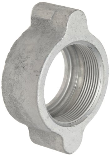 Dixon Boss B17 Plated Iron Hose Fitting, Wing Nut for 1-1/4'' and 1-1/2'' Boss Washer Seal and GJ Boss Ground Joint Seal by Dixon Valve & Coupling (Image #3)