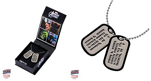 Captain America Steve Rogers Dog Tags Replica - Exclusive ()