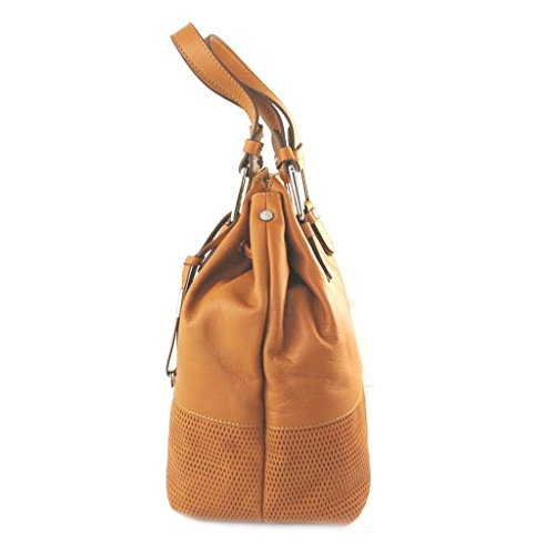 Leather duffle bag 'Gianni Conti'paprica - 26x25x20 cm. Comprar Barato Finishline De Alta Calidad Para La Venta Verdadera Auténtica Barato La Venta En Línea b2uVs9