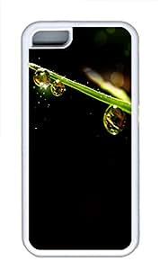 iPhone 5C Case, iPhone 5C Cases - Morning dew drops Custom Design iPhone 5C Case Cover - Polycarbonate¨C White